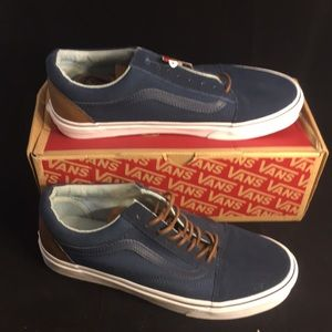 Vans Old Skool Dress Blues Men's 9/ Women's 10.5
